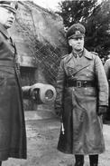 Militaria WW2 - Le Maréchal Erwin Rommel Et Le Général Fahrmbacher - 1939-45