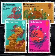 U150 - BAHAMAS 1974 , Yvert N. 346/349  ***  MNH  UPU - Bahamas (1973-...)