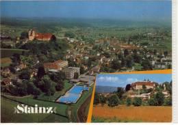 STAINZ - Luftbild, Flugaufnahme, Panorama - Stainz
