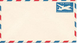 USA Postal Stationery Air Mail Cover In Mint Condition 7c Aeroplane Blue