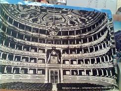 REGGIO EMILIA  TEATRO MUNICIPALE INTERNO V1939   FZ12069 - Reggio Emilia