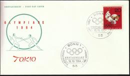 Germany Bonn 1964 / Olympic Games Tokyo 1964 / Judo / Fencing