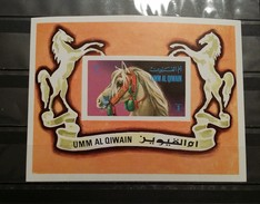 Umm Al Qiwain, 1972, Mi: Block 36 (MNH) - Cavalli