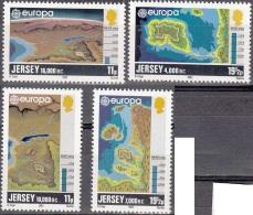 Jersey 1982 Michel 278 - 281 Neuf ** Cote (2015) 3.50 Euro Europa CEPT Histoire De Jersey - Jersey