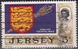 Jersey 1969 Michel 12 O Cote (2008) 0.20 Euro Armoirie De Jersey - Jersey