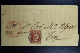 Spain: Complete Cover Fuy Ed. 17 Mi Nr 17 , 1853 - 1850-68 Reino: Isabel II