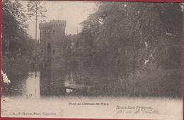 Brasschaat Brasschaet Polygone Pont Au Chateau Du Mick (beschadigd) Hoelen Capellen - Brasschaat