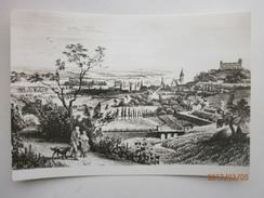Postcard Bratislava Slovakia Art Drawn Card Used 1971 My Ref B2307 - Slovakia
