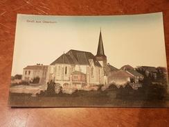 Eglise OBERKORN, OBERCORN, Carte Jamais Utilisée - Differdange