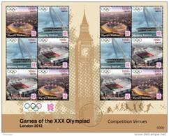 UGANDA 2012 - Olympic Games In London - Mi 2869-71; CV = 15.60 €