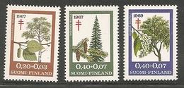 Suomi MNH / ** ; 1967;  Mi: 623-625     (sf074)