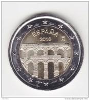 @Y@   Spanje  2  Euro  2016  Commemorative  UNC - Espagne