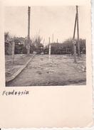 Foto Feodossia Feodossija - Barrikaden Drahtverhau - Achtung Minen! - 2. WK - 5*5cm (27247) - Krieg, Militär
