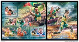 MOZAMBIQUE 2012 - London Paralympics; CV = 38 €
