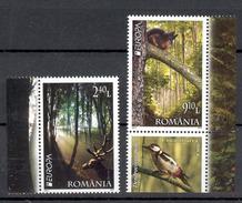 Romania 2011 Europa CEPT  2v** MNH