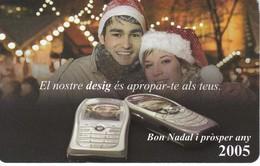AND-146 TARJETA DE ANDORRA NADAL 2004 (CHRISTMAS-NAVIDAD) - Andorre