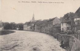 CPA- THANN - Vieilles Maisons,L'Eglise Et Vue Sur La Thur Dép68 TBE - Thann