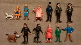 Anciennes Figurines Tintin - ESSO 1973 - Série Complète - Kuifje