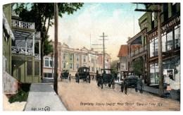 18654  NY Saranac Lake  Broadway Looking Toward Main Street - NY - New York