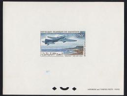 Mauritania 1966 150Fr Couzinet Arc-en-ciel Plane. Deluxe Proof. Scott C55. Yvert PA59. - Mauritania (1960-...)