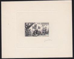 Monaco 1956 30Fr Columbus Landing In America. Signed Artist Proof. Scott 359. Yvert 449. - Monaco