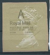 GROSSBRITANNIEN GRANDE BRETAGNE GB 2-2-2011 A ROYAL MAIL GOLD HORIZON (TYPE I) - Universal Mail Stamps