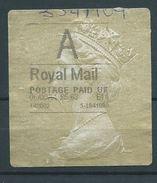 GROSSBRITANNIEN GRANDE BRETAGNE GB 6-9-2010 A ROYAL MAIL GOLD HORIZON (TYPE I) - Universal Mail Stamps