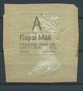 GROSSBRITANNIEN GRANDE BRETAGNE 19-1-2011 A ROYAL MAIL GOLD HORIZON (TYPE I) BIS - Universal Mail Stamps