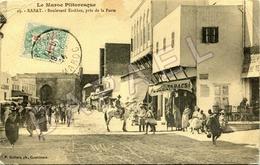 Rabat (Maroc) - Boulevard El-Alou Près De La Porte (Circulé En 1914) - Rabat