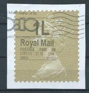 GROSSBRITANNIEN GRANDE BRETAGNE GB 27-07-10 1L ROYAL MAIL GOLD HORIZON (TYPE I) (THIN FONT) - Universal Mail Stamps