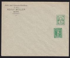 Switzerland 1900s Postal Stationery 2 Different Imprints. - Entiers Postaux