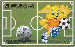 Télécarte Japon / 110-143815 - JAPAN FOOTBALL LEAGUE * MOVIC * / SHIMIZU S-PULSE - Comics Sport Phonecard TK - 1008 - Sport