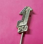 PIN * PSD * Political Partie - Badges