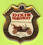 Pin's Club Lions Georgia 2007 Dixie Highway Ford 1909 Model T - 2B08 - Ford