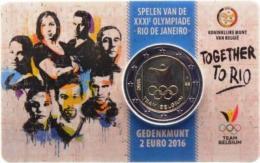 Belgio - 2 Euro 2016 - XXXI Giochi Olimpici – Rio De Janeiro 2016 !!! - Belgique