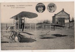 Le Crotoy Les Frères Caudron Et Leur Hydro-aéroplane - Le Crotoy
