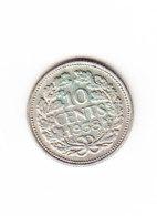 PAYS BAS, KM 163, 1938 10 C, XF+, SILVER. (B362) - [ 3] 1815-… : Reino De Países Bajos