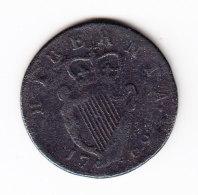 IRLANDE, KM 137, 1769 1/2 P, VF+. (B391) - Irlande