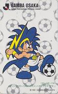 Télécarte Japon / 110-142282 - JAPAN FOOTBALL LEAGUE * SONY MOVIC * / GAMBA OSAKA - Comics Sport Phonecard TK - 1018 - Sport