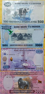 O) 2013  2015 RWANDA, BANKNOTE, PAPER MONEY, ISO 4217 RWF-RF, FRANCS, COMPLETE SEIRES UNC, ATANU, IGIHUMBI, BIBIRI,BITAN - Rwanda