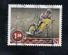 New Zealand 2009 Champions Of Motor Sport - $1.50 Motobike Rider Ivan Maugher FU