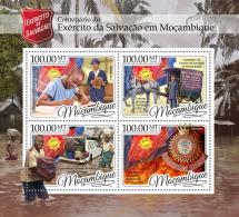 MOZAMBIQUE 2016 ** Salvation Army Heilsarmee Armée Du Salut M/S - OFFICIAL ISSUE - A1705