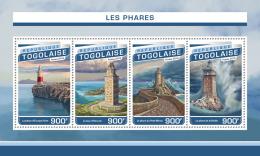 TOGO 2016 ** Lighthouses Leuchttürme Phares M/S - OFFICIAL ISSUE - A1705 - Faros