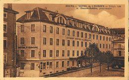 Bourg-en-Bresse - Grand Hôtel De L'Europe - Edition Combier - Carte Sépia Non Circulée - Hotels & Restaurants