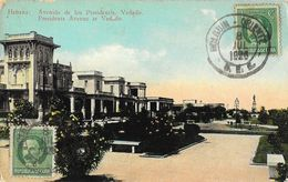 République De Cuba - Habana - Avenida De Los Presidentis, Vedado - Cartes Postales