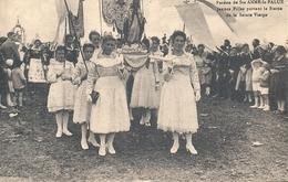 FINISTERE - 29 - Plonévez-Porzay - Sainte Anne La Palue - Pardon - Jeunes Filles Portant La Statue - Plonevez-du-Faou