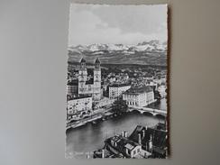 SUISSE ZH ZURICH UND DIE ALPEN - ZH Zurich