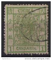 CINA (China): 1 Candarin 1883 - Large Dragon - Cina