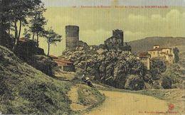 Environs De St-Etienne - Ruines Du Château De Rochetaillée - Edition Nouvelles Galeries, Carte Vernie, Toilée - Rochetaillee