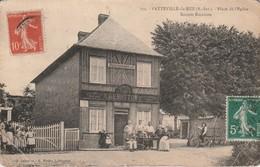 76 - VATTEVILLE LA RUE - Place De L' Eglise  Recette Buraliste - Sonstige Gemeinden